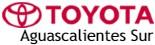 Logo Toyota Aguascalientes Sur
