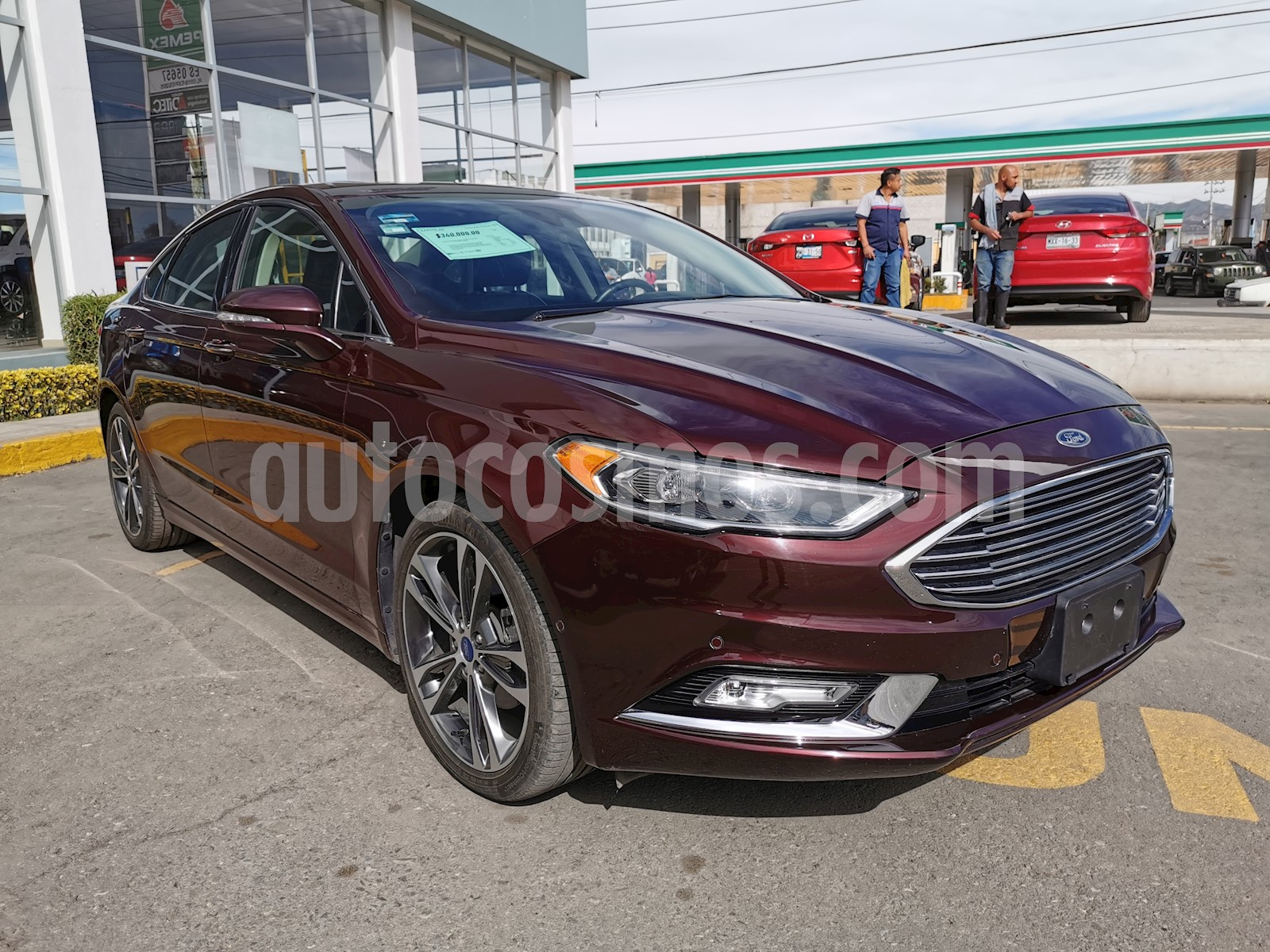 Ford Fusion S Aut 2017
