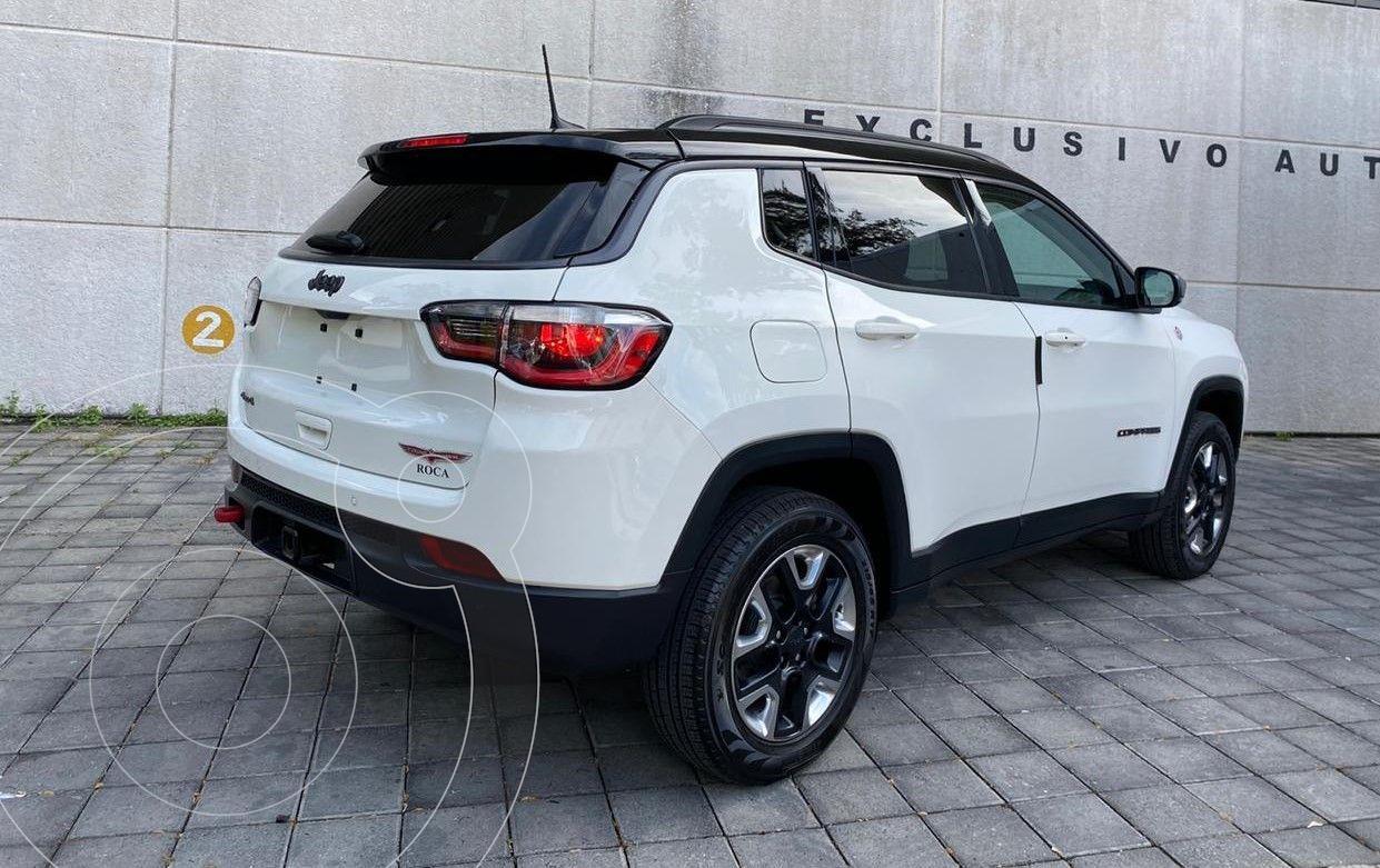 Jeep Compass Trailhawk 4X4 usado (2018) color Blanco ...