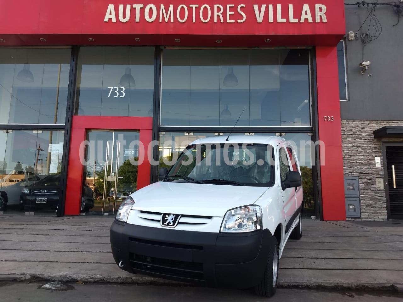 peugeot partner furgon confort hdi usado 2020 color blanco precio 1.750.000