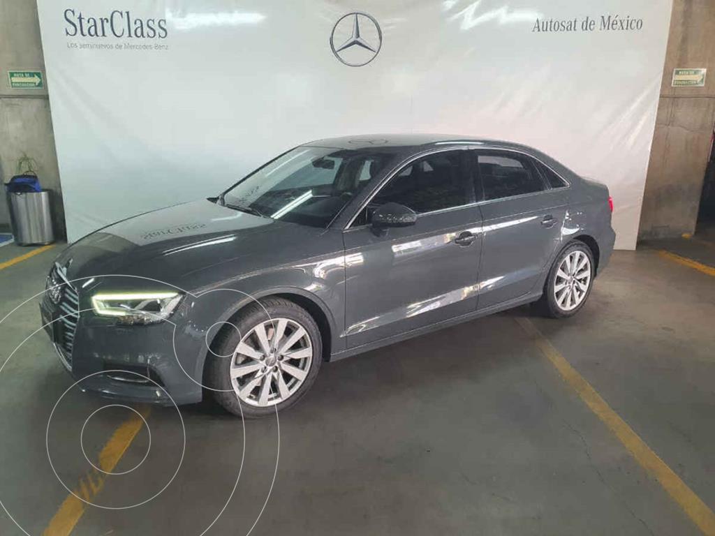 foto Audi A3 Sedán 2.0L Select Aut usado (2018) color Gris precio $385,000