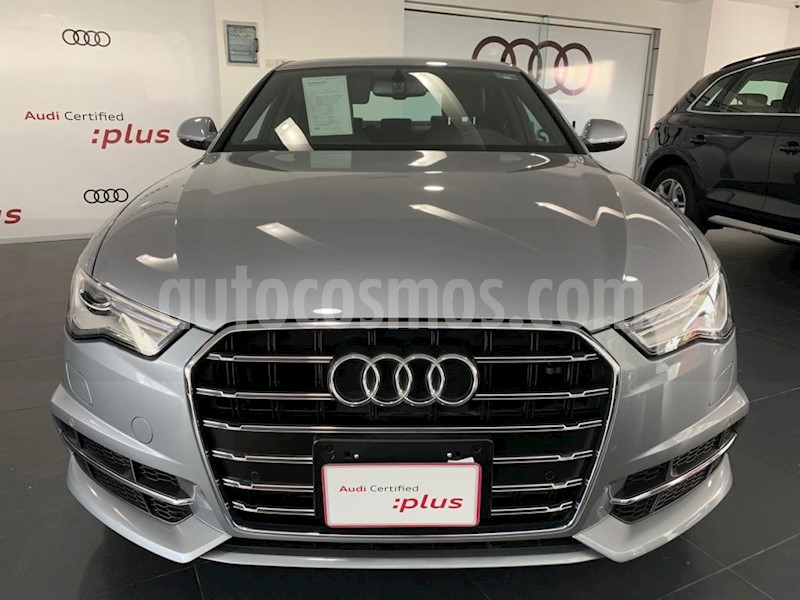 foto Audi A6 1.8 TFSI Sline (190hp) usado (2018) color Gris precio $645,000