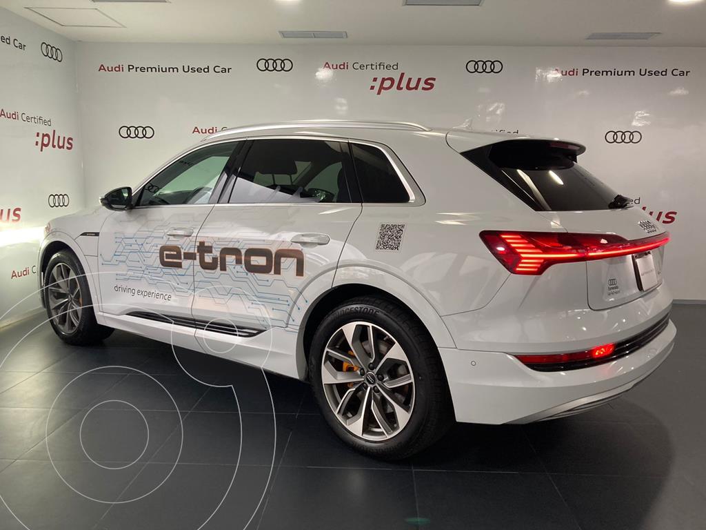 foto Audi e-tron 55 Advanced quattro usado (2021) color Blanco precio $1,599,000
