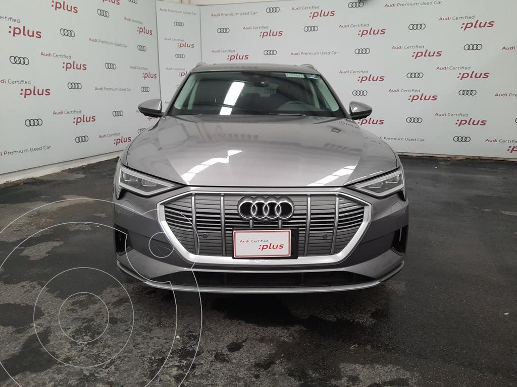 foto Audi e-tron 55 Advanced quattro usado (2020) color Gris precio $1,580,000