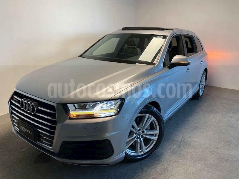 foto Audi Q7 3.0L TFSI S Line Quattro (333Hp) usado (2019) color Plata precio $1,250,000