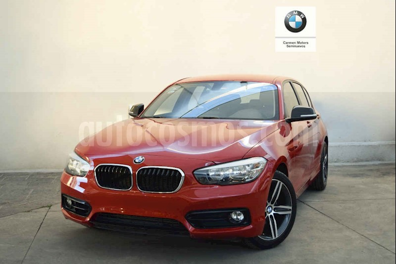 foto BMW Serie 1 5p 118i Sport Line L3/1.5/T Aut usado (2019) color Rojo precio $380,000