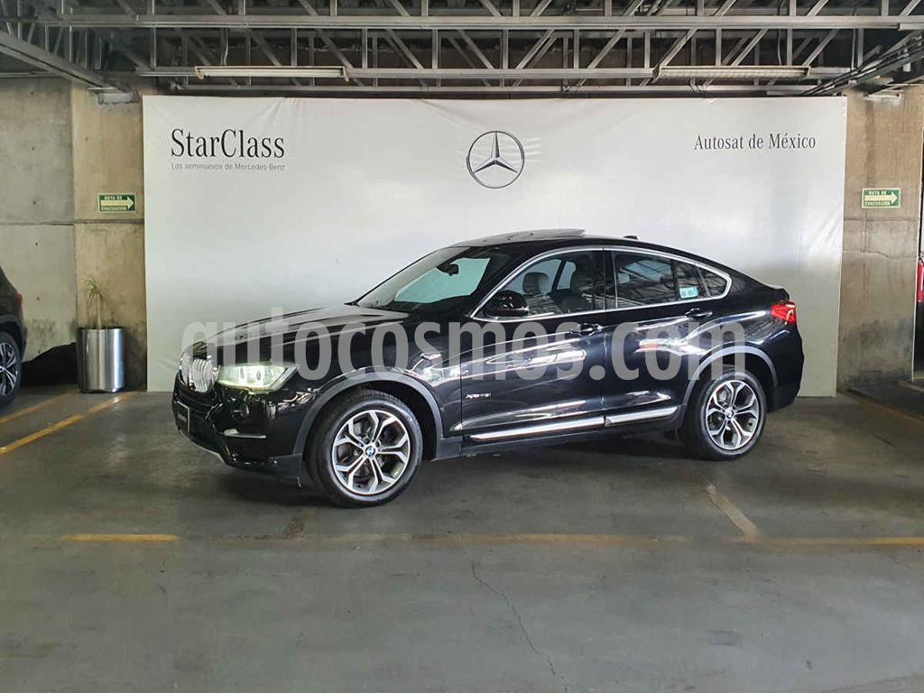 foto BMW X4 xDrive28i X Line Aut usado (2015) color Negro precio $409,000