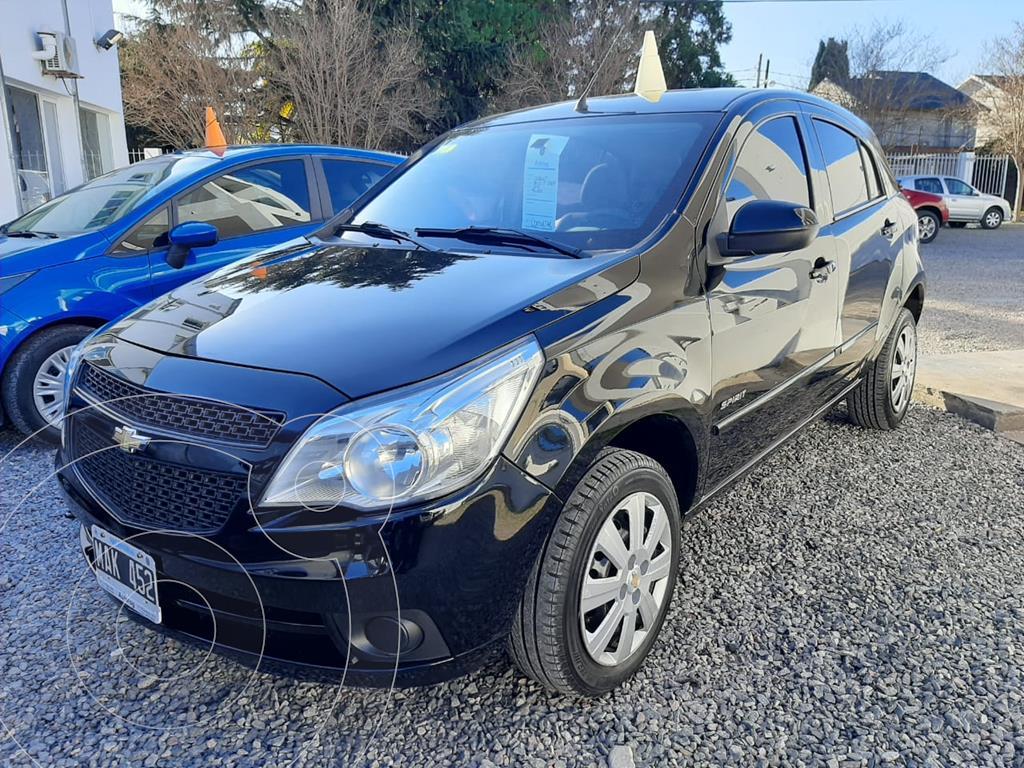 foto Chevrolet Agile LT Spirit usado (2013) color Negro precio $890.000