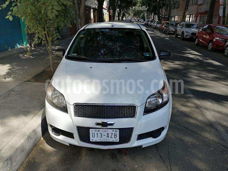 Chevrolet Aveo Ls Usado 2014 Color Blanco Precio 95000