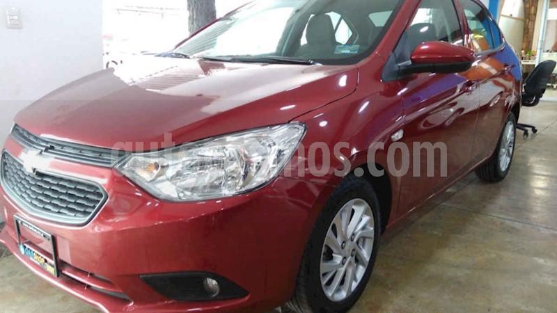foto Chevrolet Aveo LT Aut usado (2019) color Rojo precio $174,900