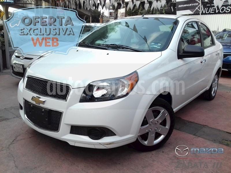 Chevrolet Aveo Lt Aut Usado 2017 Color Blanco Precio 140000