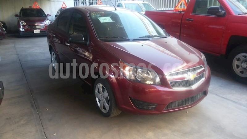 Chevrolet Aveo Lt Seminuevo 2017 Color Rojo Tinto Precio 165000