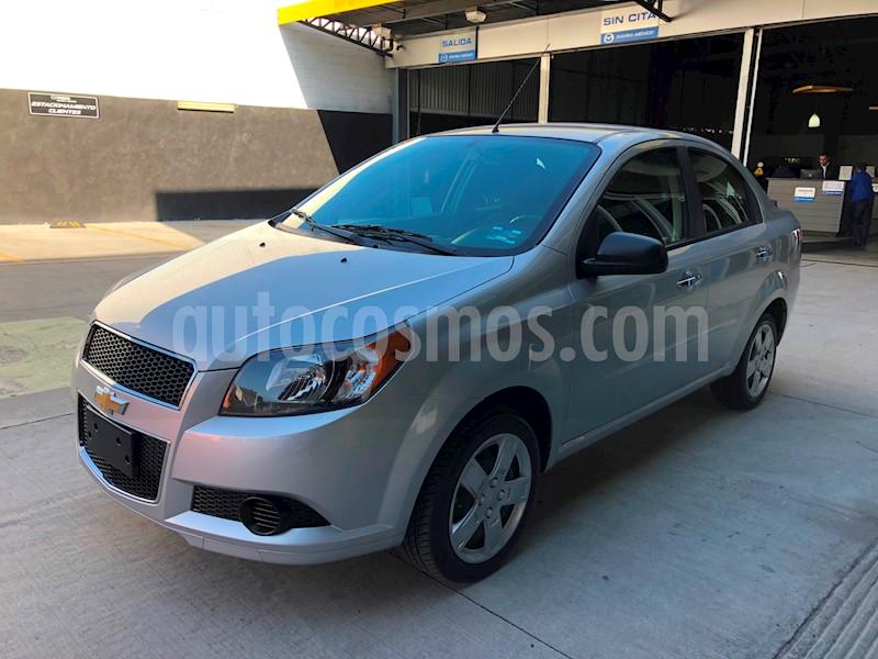 Chevrolet Aveo Lt Seminuevo 2017 Color Plata Brillante Precio 154900