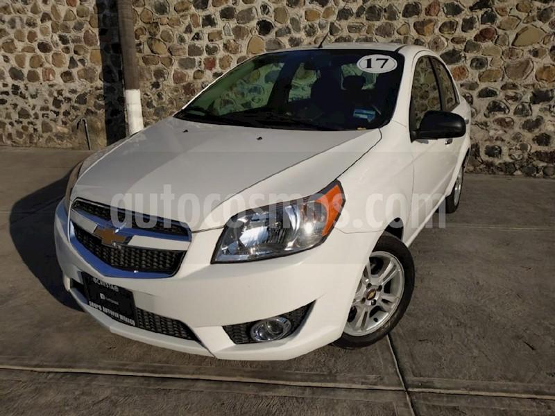 Chevrolet Aveo Ltz Aut Usado 2017 Color Blanco Precio 170000