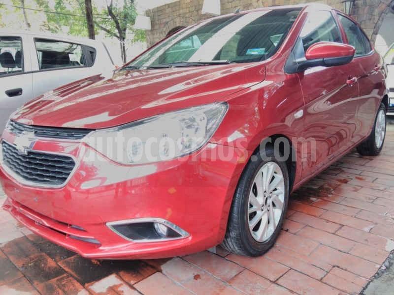 foto Chevrolet Aveo LTZ usado (2018) color Rojo precio $157,800