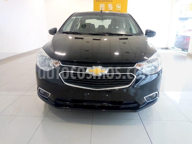 foto Chevrolet Aveo LTZ usado (2018) color Negro precio $180,000