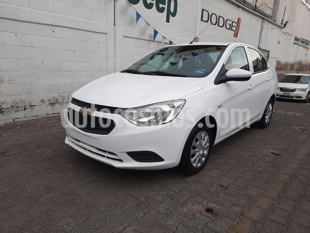 foto Chevrolet Aveo LS usado (2018) color Blanco precio $150,000