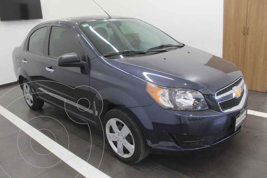 foto Chevrolet Aveo LT Aut usado (2018) color Azul precio $159,000