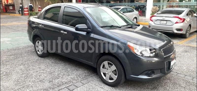foto Chevrolet Aveo 4P LS TA A/AC CD R-14 usado (2016) color Gris precio $130,000