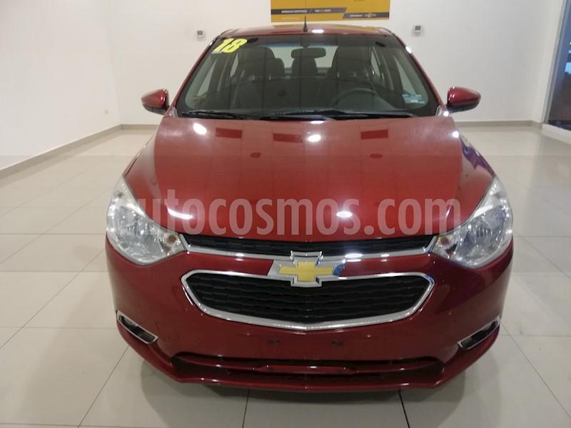 foto Chevrolet Aveo LTZ Aut usado (2018) color Rojo precio $175,000