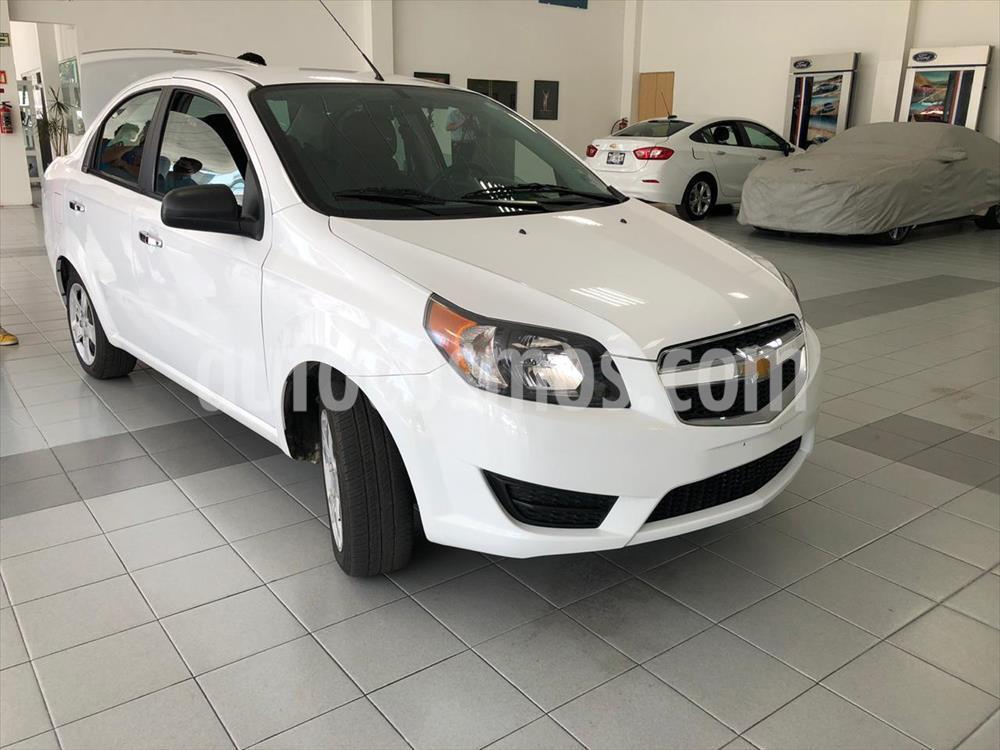foto Chevrolet Aveo LS Aut usado (2018) color Blanco precio $148,000