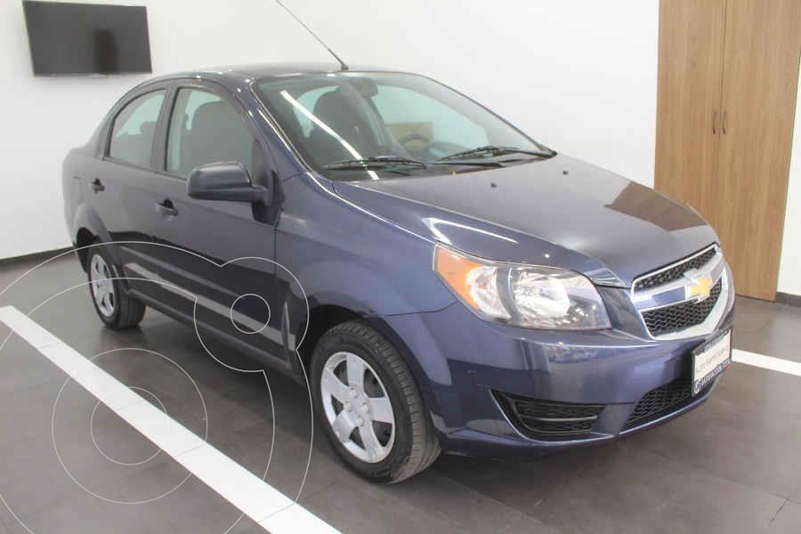 foto Chevrolet Aveo LS usado (2018) color Azul precio $145,000