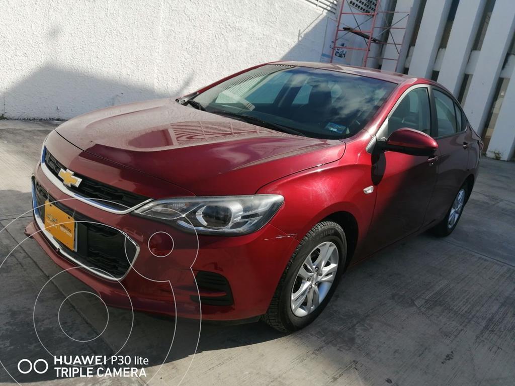 foto Chevrolet Aveo LT Aut usado (2019) color Rojo precio $175,000