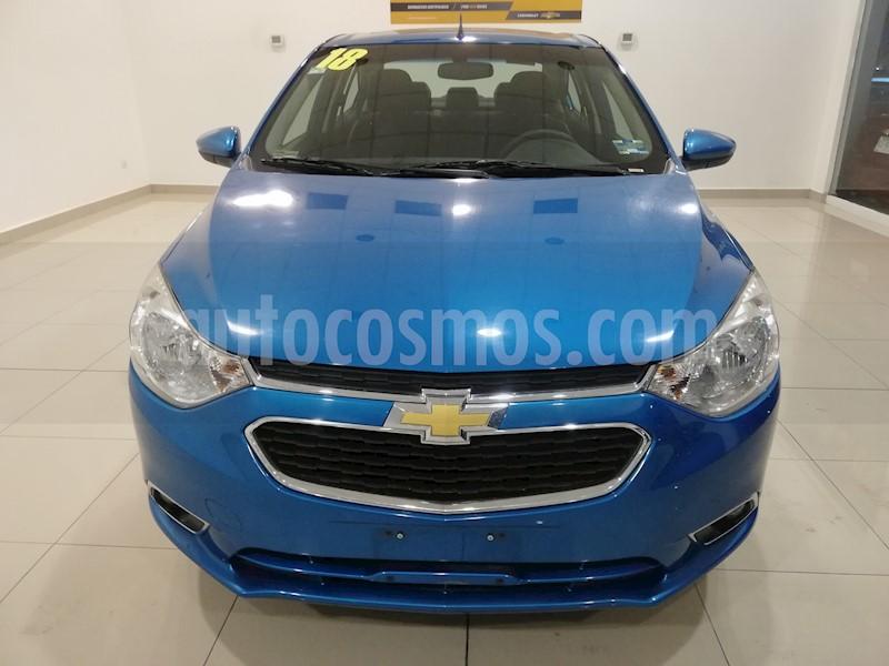 foto Chevrolet Aveo Paq F usado (2018) color Azul precio $192,000
