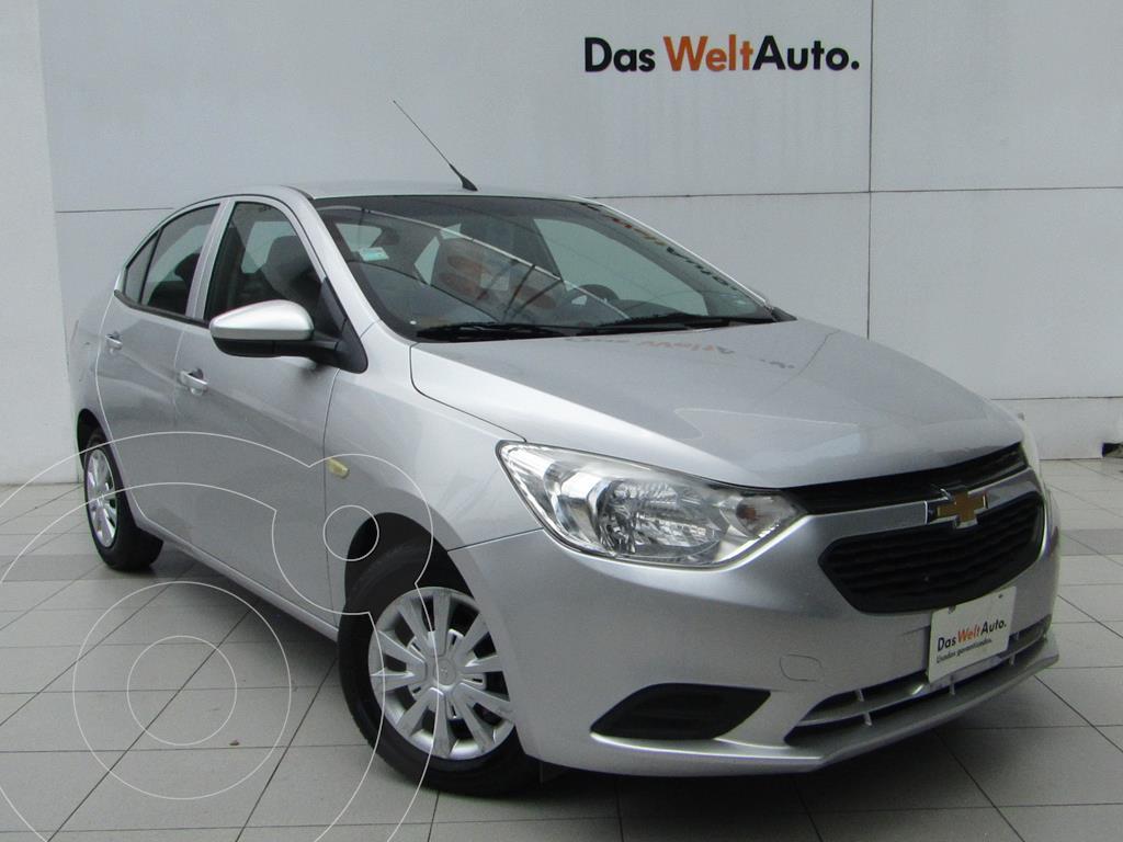 foto Chevrolet Aveo LS Aut usado (2020) color Plata precio $189,000