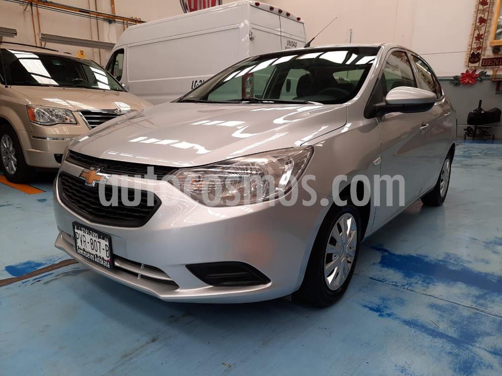 foto Chevrolet Aveo LS usado (2018) color Plata Dorado precio $140,000