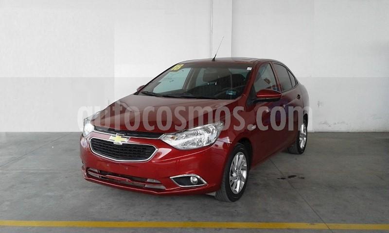 foto Chevrolet Aveo LTZ usado (2018) color Rojo precio $191,000