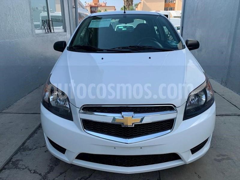 foto Chevrolet Aveo LS AUTOMÁTICO usado (2018) color Blanco precio $142,000