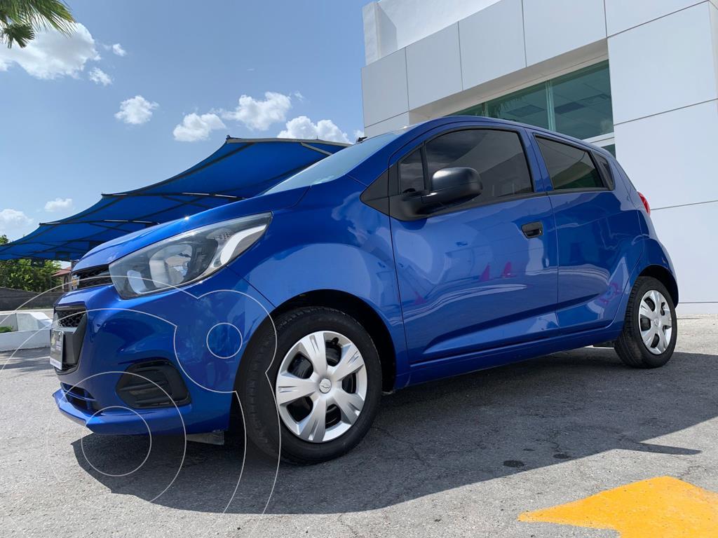 foto Chevrolet Beat Hatchback LT usado (2019) color Azul precio $187,500
