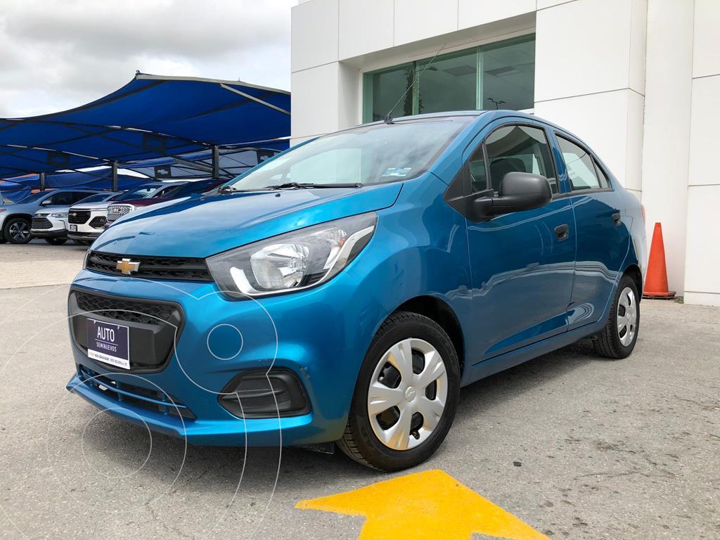 foto Chevrolet Beat Notchback LT Sedán usado (2020) color Azul precio $234,000