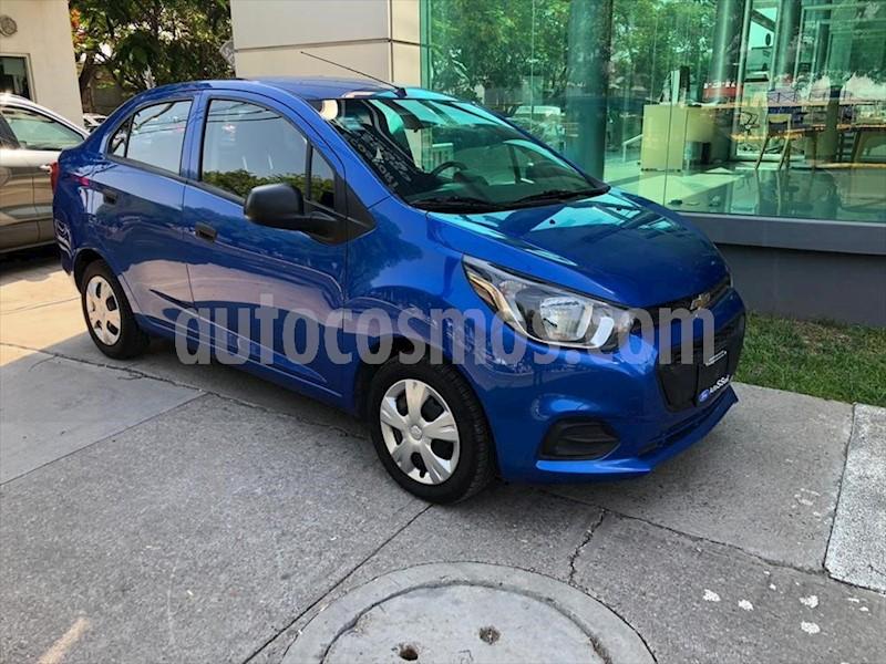foto Chevrolet Beat LT Sedán usado (2019) color Azul Eléctrico precio $169,000