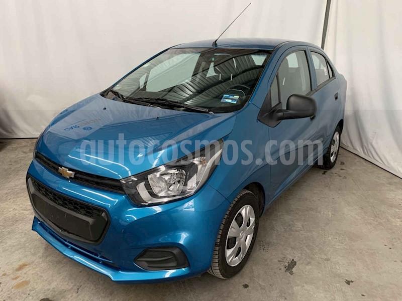 foto Chevrolet Beat LT Sedán usado (2019) color Azul precio $149,900
