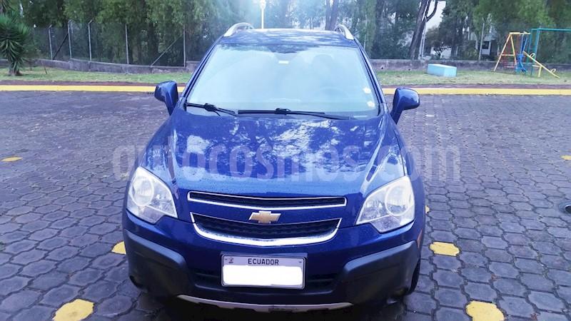 Chevrolet Captiva Sport 24l Aut Usado 2013 Color Azul Precio U