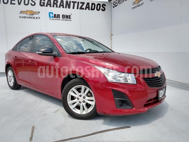 foto Chevrolet Cruze LS usado (2015) color Rojo precio $150,500