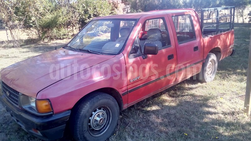 Chevrolet Luv 1 6 Doble Cabina Usado  1996  Color Rojo