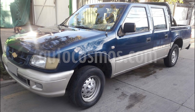 Chevrolet Luv Gls 2 2 4x2 Cabina Doble Usado 2002 Color Azul