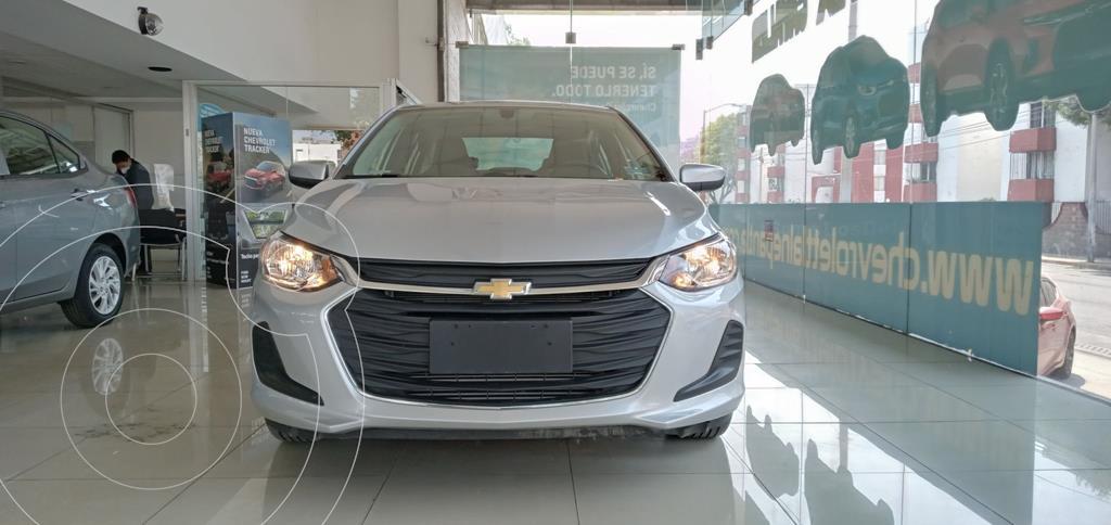 foto Chevrolet Onix LT Aut usado (2021) color Plata Dorado precio $299,000