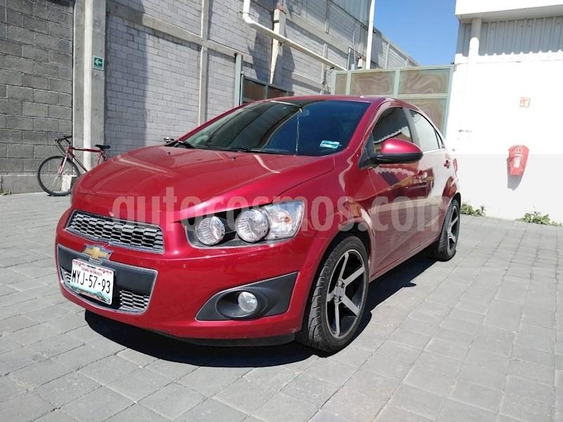 foto Chevrolet Sonic LTZ Aut usado (2016) color Rojo precio $170,000