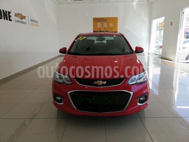foto Chevrolet Sonic Premier Aut usado (2017) color Rojo precio $185,000