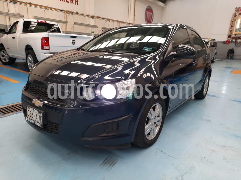 foto Chevrolet Sonic LT Aut usado (2016) color Azul precio $165,000