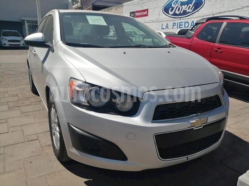 foto Chevrolet Sonic LT usado (2014) color Plata precio $130,000