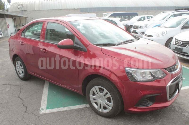 foto Chevrolet Sonic LS usado (2017) color Rojo precio $159,000
