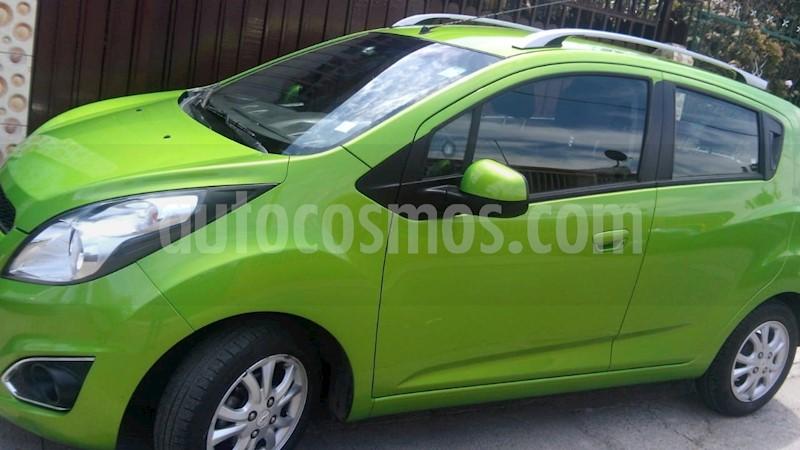 7c3ab3f56 Chevrolet Spark GT 1.2L LT AC BT usado (2015) color Verde Lima ...