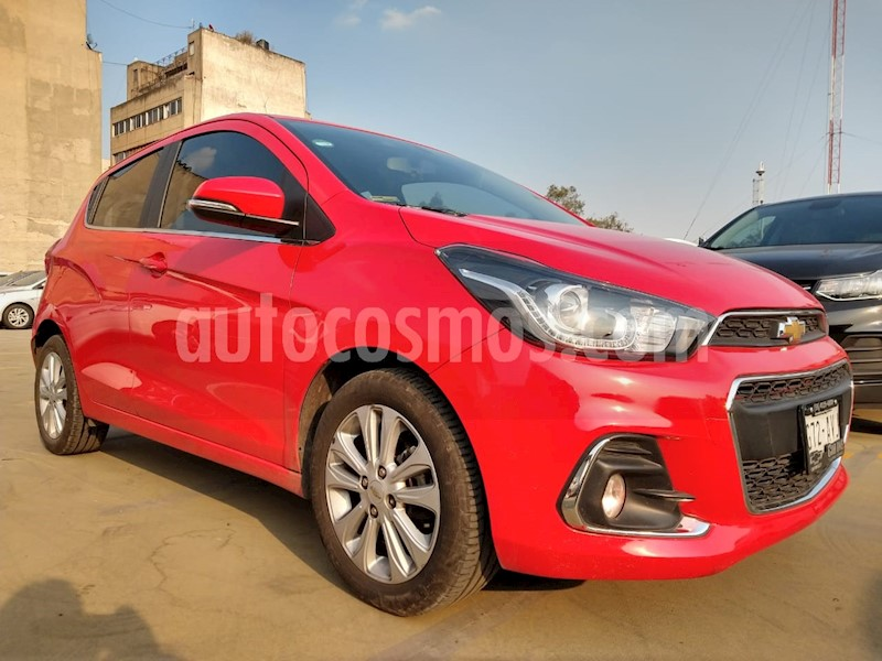 foto Chevrolet Spark LTZ usado (2018) color Rojo precio $188,000