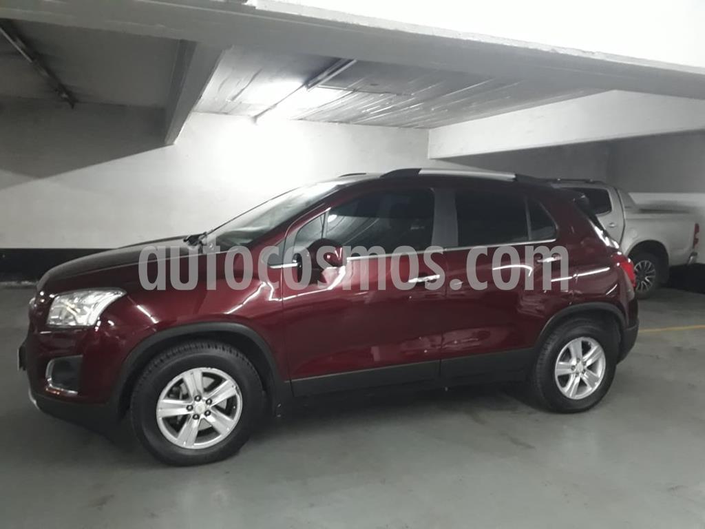 foto Chevrolet Tracker LTZ 4x2 2016/2017 usado (2016) color Rojo Victoria precio $1.069.000