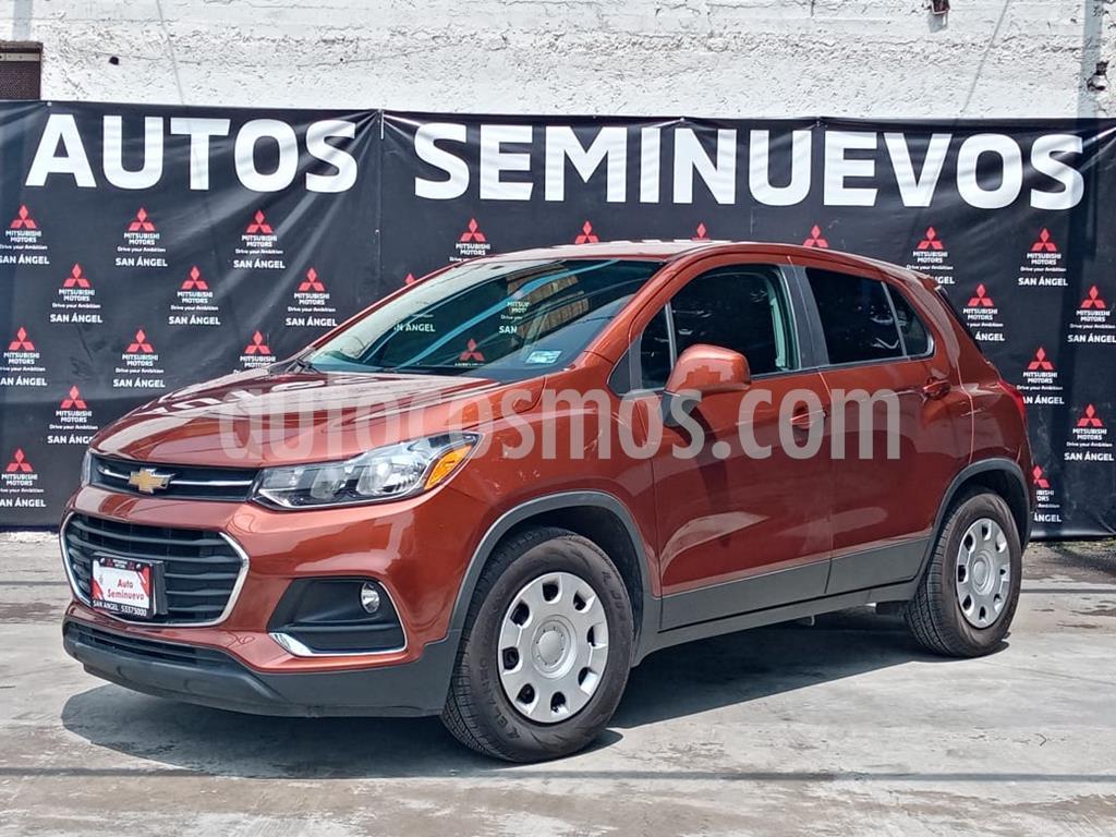 foto Chevrolet Trax LS usado (2019) color Naranja Metálico precio $253,000